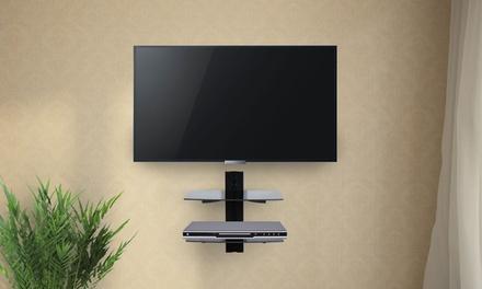 Mensole Da Parete Per Lettore Dvd : Mensola a parete per decoder lettore tv dvd portata kg ripiano