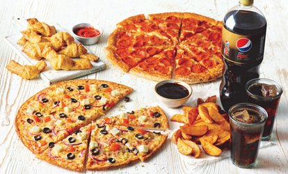 image for £30 or £60 to Spend on Pizza at Papa Johns (50% Off)