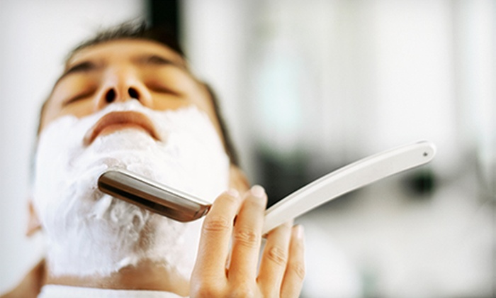 Rayzor Sharp - Northglen: Men's Haircut with Option for Straight-Razor Shave at Rayzor Sharp (Up to 50% Off)