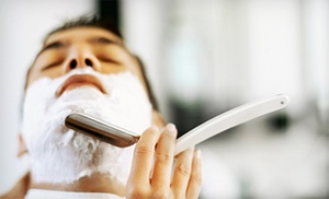 Rayzor Sharp: Men's Haircut with Option for Straight-Razor Shave at Rayzor Sharp (Up to 50% Off)