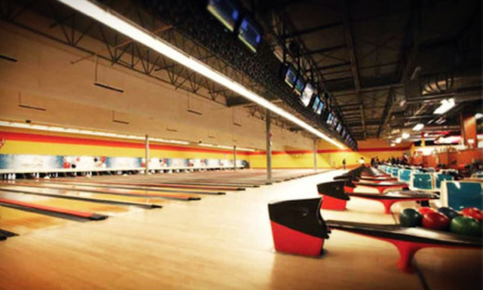 Century Bowling - Alyth - Bonnybrook - Manchester: $25 for One Hour of Bowling for Up to Six with Shoe Rental at Century Bowling (Up to $50 Value)