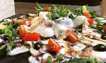 Menú para 2 o 4 con entrante, principal, postre y bebida en Ristorante Due Galli (hasta 61% de descuento)
