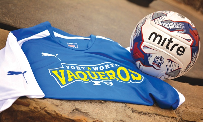 Fort Worth Vaqueros - LaGrave Field: $5 for a Fort Worth Vaqueros NPSL Soccer Game at LaGrave Field on May 29 ($11.50 Value)