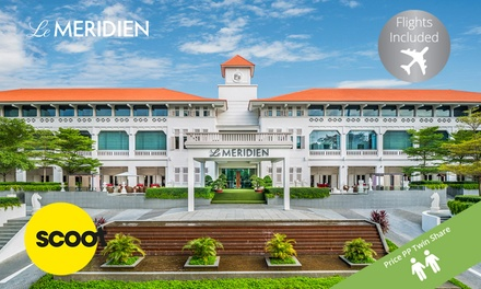 Sentosa, Singapore: Per Person for a ThreeNight Getaway with Flights and Breakfast at 5* Le Meriden Sentosa