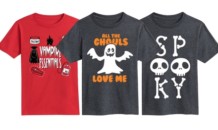 Juniors' Halloween Tees