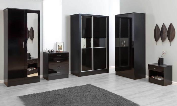 High Gloss Bedroom Sets in a Choice of Styles from £74.99