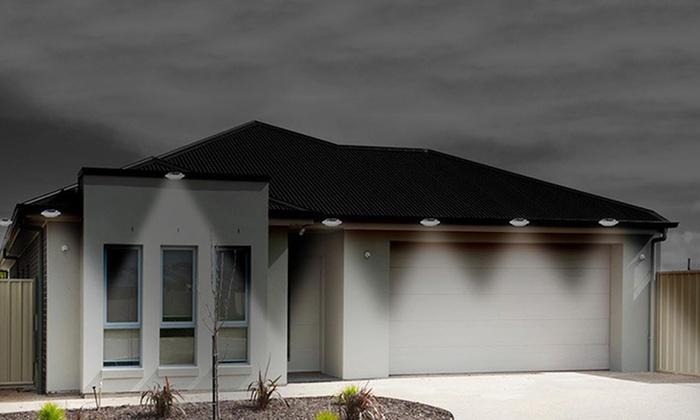 outdoor led leuchte groupon goods. Black Bedroom Furniture Sets. Home Design Ideas