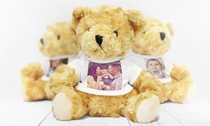 PrinterPix-Teddy bear: Uno o 2 orsetti di peluche personalizzabili offerti da Printer Pix (sconto fino a 57%)
