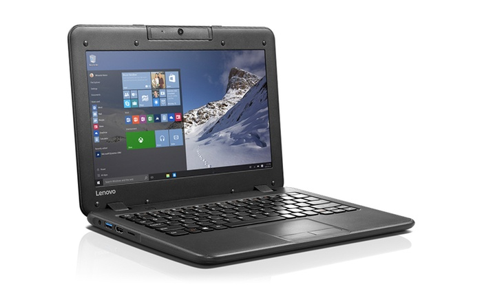 Lenovo ThinkPad 11.6 Laptop with 1.6GHz Intel Processor, 4GB RAM, 32GB or 64GB SSD, and Win10 Pro