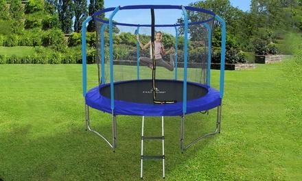 trampolines fast jump semi pro bleu groupon. Black Bedroom Furniture Sets. Home Design Ideas