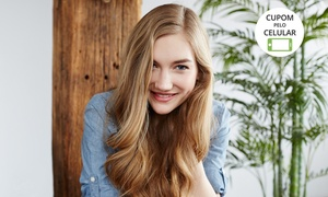 Bella Hair: Bella Hair – Jardim Bela Vista:coloração, corte, hidratação, escova e sobrancelhas (opção com mão e pé)