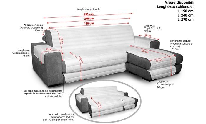 Divano Letto Larghezza 170.Datexx Sofa Cover Groupon Goods