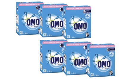 $54 for Six 2kg Boxes of Omo Sensitive Laundry Powder for Top and Front Loaders Don't Pay $119.94