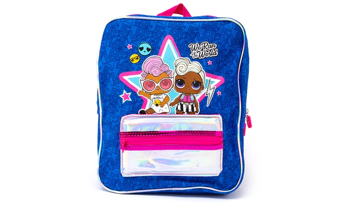 One or Two LOL Surprise Backpacks with Holographic Pocket