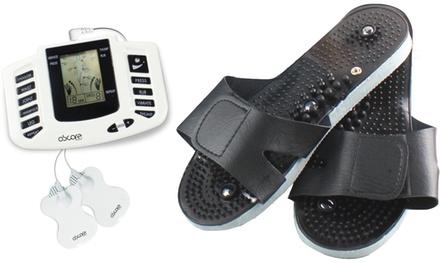 Electroestimulador muscular y masajes