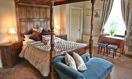 East Riding: 1 or 2 Nights for Two with Breakfast and Option for Dinner at the Rowley Manor