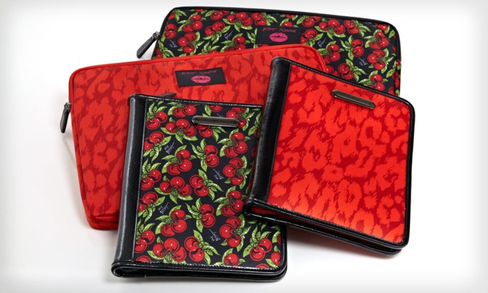Betsey Johnson iPad and Laptop Sleeves: Betsey Johnson iPad or Laptop Sleeve (Up to 52% Off). Two Styles Available. Free Shipping and Free Returns.