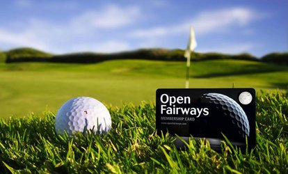 image for Golf Privilege Card with 12- or 24-Month Membership from Open Fairways (Up to 72% Off)