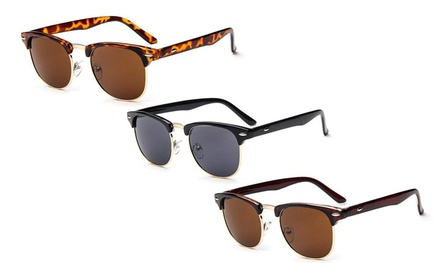 One or Two Retro Unisex Clubmaster Sunglasses