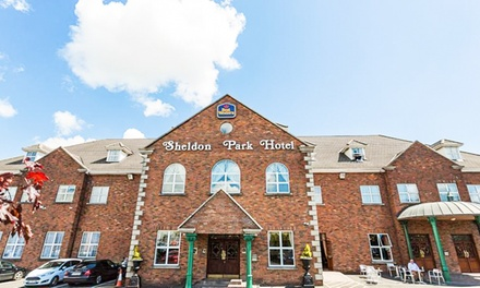 ✈ Dublin: 2 or 3 Nights with Spa Access, Return Flights and Optional Guinness Tour at Best Western Sheldon Park Hotel*