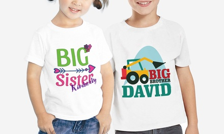 Kids' Character T-Shirts with Optional Name from Monogram Online