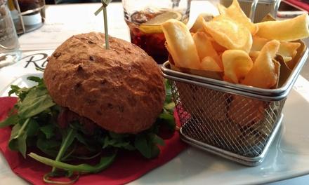 Menu hamburger con dolce e birra a 24,90€euro