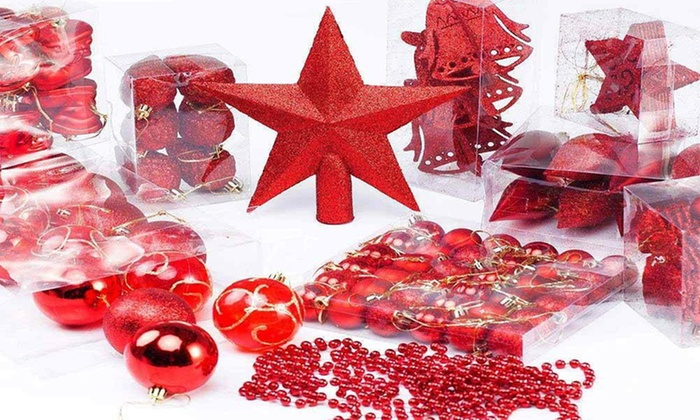 Palline di Natale e addobbi