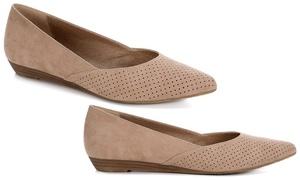 Limelight Women's Alia Slip-On Mini Wedge Flat Shoes