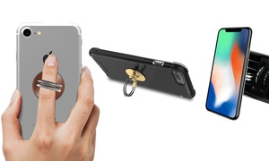 Aduro U-Grip 3-In-1 Phone Stand, Vent Mount, and Rotating Ring Grip