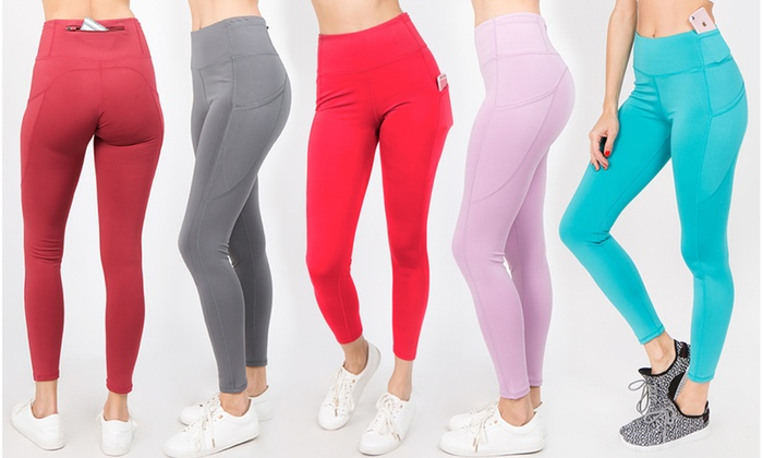ba6a672f7aaf3 Style Clad Women's High-Rise Workout Leggings. Plus Sizes Available.