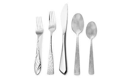 18/10 Stainless Steel Flatware Set (45-Piece)
