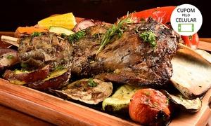La Parrilla Del Mercado: Prato Principal (Carnes Nobres ou Salmão) com opção de sobremesa para 2 no La Parrilla Del Mercado – 2 unidades