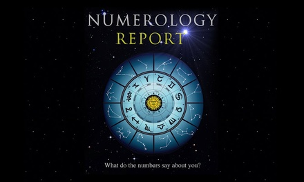 $14 for a 12-Month Numerology Report from AstroGifts (Up to $70 Value)