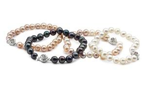 Bracelets perles de culture