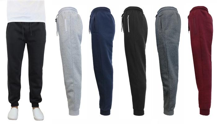 Galaxy By Harvic Men's Slim Fit Fleece Jogger Pants: Galaxy By Harvic Men's  Slim Fit ...