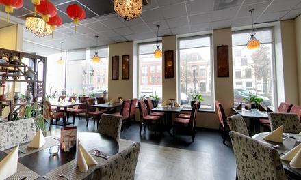 Leeuwarden: onbeperkt Chinees buffet incl. een voor en nagerecht voor 26 personen bij Kota Radja