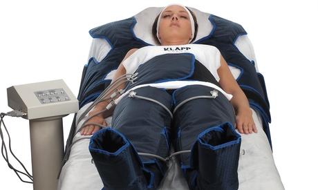 40 Min. maschinelle Lymphdrainage für den ganzen Körper inkl. Wärme bei Schwarze Perle