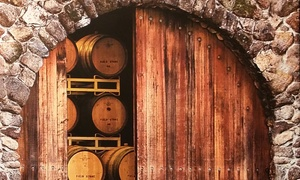 $39 For A Private Winery & Vineyard Tour Package With Wine Tasting For Up To Four At Field Stone Winery ($115 Value)