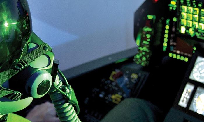 Vol à bord d'un simulateur d'avion de chasse F-35 au choix entre 2, 4 ou 6 sessions ou pack dès 69 €