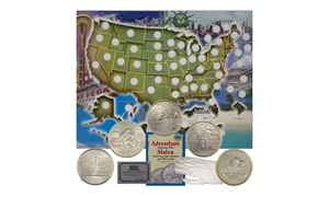 US State Quarter Collector Set (9-Piece)