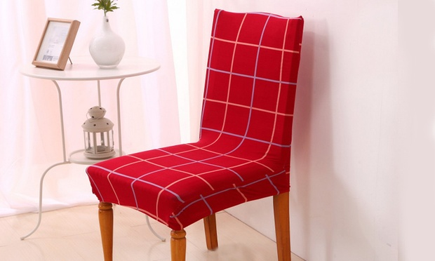 Stretch Dining Chair Cover Groupon