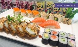 QQ Sushi Lounge Königsbau: Tokio-Menü inkl. japanischer Glaskugel-Limonade für 1 oder 2 Pers. in der QQ Sushi Lounge Königsbau (bis zu 50% sparen*)