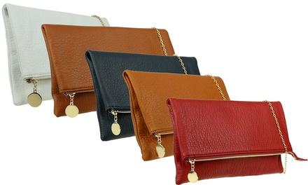 Allison Fold Over Clutch Bag