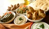 Lebanese Meze and Grill Platter