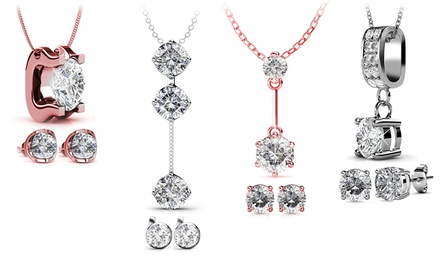 Victoria's Candy Jewellery Set with Crystals from Swarovski®