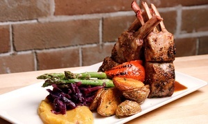 Wildfire Steakhouse & Wine Bar: Four-Course Prix Fixe Dinner with Wine for Two, Four, or Six at Wildfire Steakhouse & Wine Bar (Up to 48% Off)