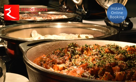 Ocean View Dinner Buffet and Wine for One $59 or Two $118 at Straits Cafe at the Rendezvous Hotel