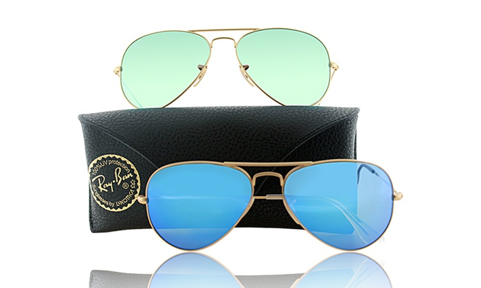 Mens Ray Ban Aviator Sunglasses  ray ban aviator sunglasses groupon goods