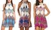 Leo Rosi Women's Darcy Halter Dress