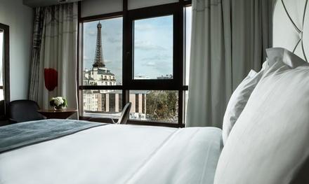París: habitación doble para 2 personas con desayuno y surtido de macarons en Hotel Le Parisis Tour Eiffel